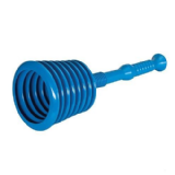 Big Blue Sink / Bath  / Basin and Toilet Plunger - 66100230